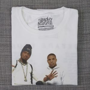 Naughty by Nature 2018 Mixtape Tour t-shirt size L
